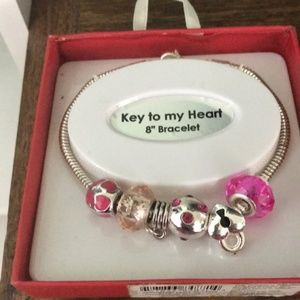 Aventura Jewelry 50 Shades of Pink Bracelet